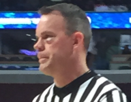 Diamond Stone accidentally gives ref a shiner during the McDonald's All American Game