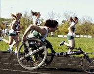 Wheelchair athlete gets his chance to compete in cross country in Maine