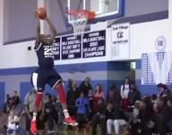 VIDEO: 8th grader Scottie Lewis throws down preposterous in-game 360 dunk