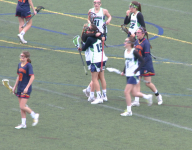 ThunderRidge girls lacrosse handles Heritage
