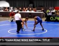 Trinity junior wrestler wins national title