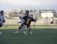 Boys varsity lacrosse: Bishop Kelly vs Rocky Mountain 4/8/2015
