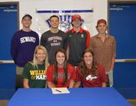 Seven Brentwood High students sign letters of intent