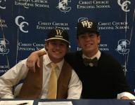 Christ Church baseball teammates sign with colleges