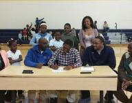 Tyontae Robertson cherished opportunity to sign his letter of intent this morning