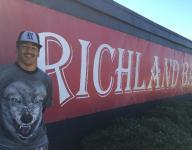 Richland hitter Trent Clark studies baseball history, making it
