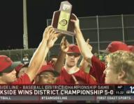 Creekside wins third straight district title