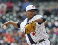 Martinez drives in 3 runs, leads Tigers over Indians