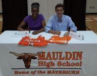 Mauldin seniors sign athletic scholarships