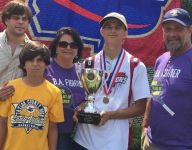 Taylor County (Butler, Ga.) testicular cancer fighter Bobby Allen Brooks wins state tennis title
