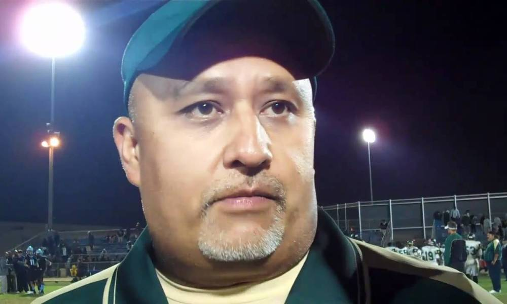 Narbonne football coach Manuel Douglas called LAUSD's lack of funding for coaches 'egregious' —YouTube screen shot