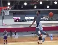 VIDEO: Derrick Jones completes Jordanesque free throw dunk in latest highlight escapade