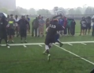 VIDEO: Ohio State RB-pledge Demario McCall appears to have almost un-tackle-able agility at Nike's The Opening Camp