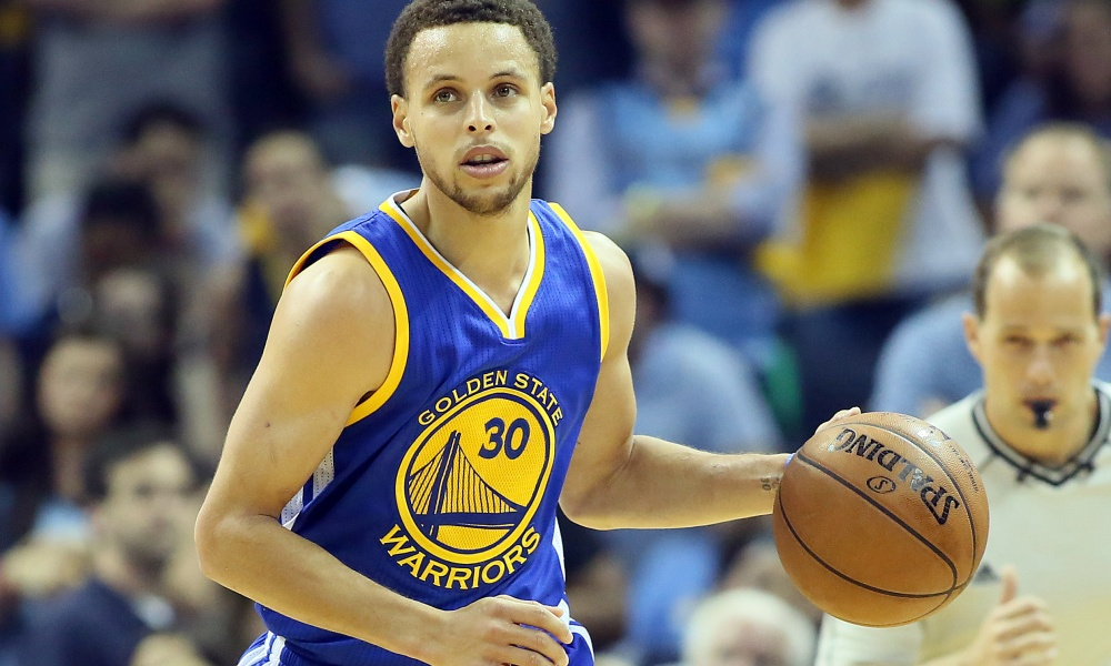 Stephen Curry and his Golden State teammates may be ideal role models for Bay Area students in their demeanor, but their very success could put those students at risk of delusion, according to one teacher — Nelson Chenault/ USA TODAY Sports