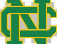 Newark Catholic softball splits pair