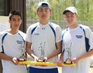 Michael Chen, Holmdel tennis defend Monmouth County Titles