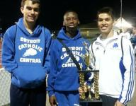 Shamrocks place strong 2nd at all-relays event