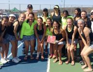 Doubles sweep nets Mustangs title at Holly