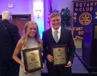 Scholar athletes recognized at Rotary South