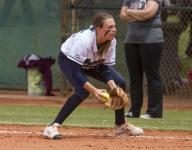 Warriors make it look easy in softball rout