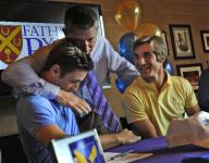 Father Ryan twins stay together in college baseball