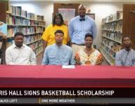 LaParis Hall SIgns Basketball Letter of Intent