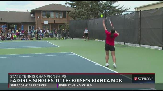 Boise Senior Claims 4th Straight State Tennis Title