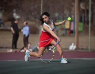 Individual tennis state tournament begins play