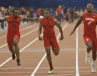 Neptune's Morgan overcomes slow start, wind for 100-meter title