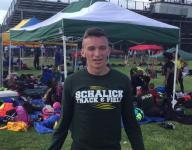 Mesiano wins 400 hurdles for the third straight year