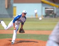 Desert Christian's Chris Palmer clinches first round win