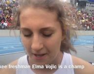 Waukee freshman Elma Vojic is a state champ