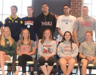 Northville honors college-bound athletes