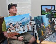 Former South Jersey coach finds voice through art