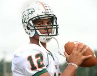 North Carolina QB Chazz Surratt sets state record for total career yardage despite injury