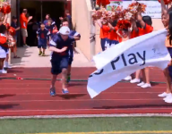 Valor Christian hosts McCaffrey Dare to Play Football Camp with Denver Broncos