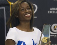 Gatorade track winner Candace Hill dishes about tough love, crazy nerves and just how fast she is