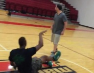 VIDEO: Marcus Smart drains halfcourt three from his back at alma mater's hoops camp
