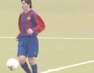 VIDEO: Rare uncovered footage of 14-year-old Lionel Messi only enhances his legacy