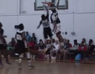 VIDEO: Sophomore Keldon Johnson throws down poster for the ages at ScoutsFocus All-American Camp