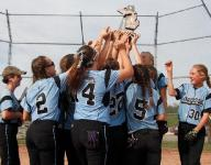 Cougars win district softball title, defeat Leslie
