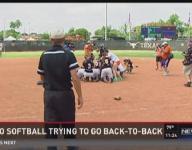 Aledo softball sticks to routine while preping for state
