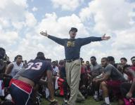 Jim Harbaugh 'outsmarting the system' at satellite camp