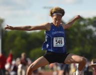 Southwest's Hiedeman repeats as D1 triple jump champ