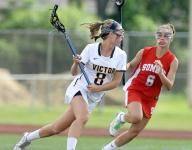 Victor girls fall in state semifinals, 14-8, to Somers