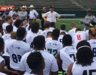 Michigan coach Jim Harbaugh brings Summer Swarm to Texas