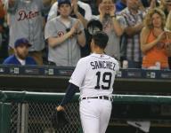 Sanchez shines, Tigers slug way to 6-0 win over Cubs