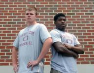Snow Hill football players take bit of home to college