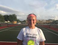 Delta doubles team falls in state semis