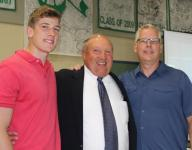 Farewell reception honors retiring coach Jim Crosby